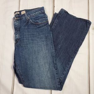 John Varvatos Bootcut Button Fly Jeans